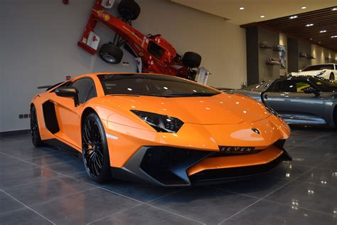 Lamborghini Sv For Sale Orange Lamborghini Aventador Sv For Sale From Seven Car