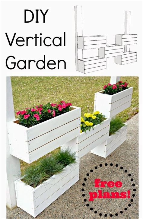 How To Make Vertical Garden Planters Best 25 Vertical Planter Ideas On Succulent
