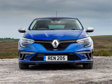 renault blue renault megane hatchback 2016 driving performance