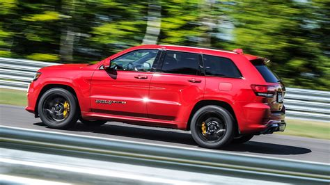 jeep grand cherokee trackhawk  review europe