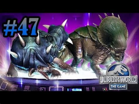 Jurassic World The Game Giveaways Top - jurassic world the game nasutoceratops max level 40 doovi
