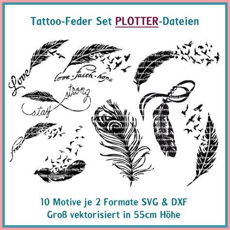cut file feather tattoo rock queen embroidery design