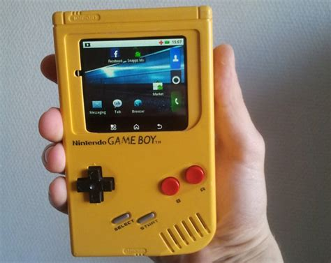 mod your gameboy game boy runs android best hack ever pcworld