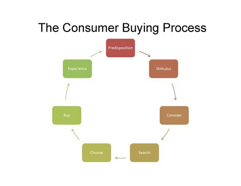 the consumerist buying decision process exle your decision process is
