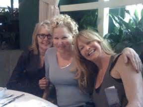 goldie hawn bette midler goldie hawn bette midler diane keaton reuniting for