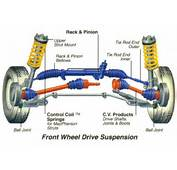 Drive Vehicles Have Roughly The Same Front Suspension Components