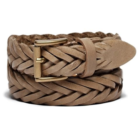 ambert braided woven leather belt leather4sure