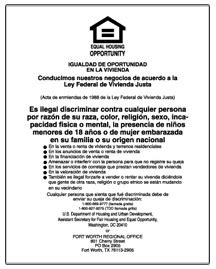 printable equal employment opportunity poster equal housing opportunity spanish digital print mfblouin