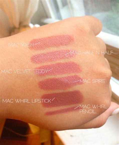 Mac Whirl as a junicorn mac whirl lipstick mac comparisons