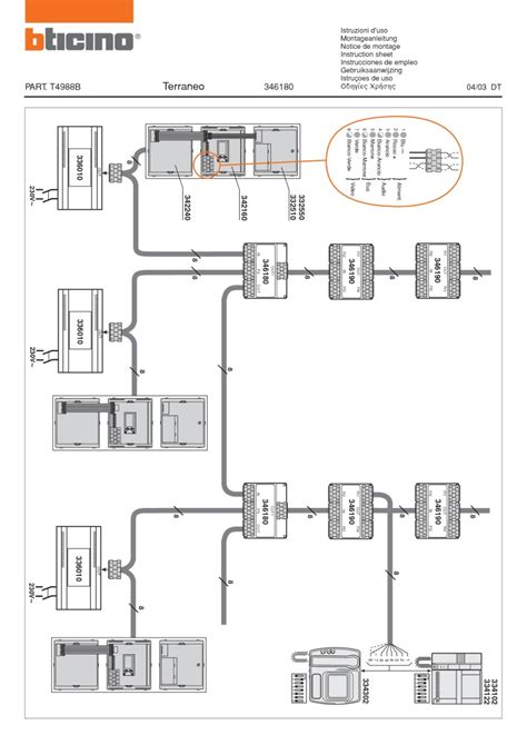 bticino wiring diagrams inside fermax intercom diagram in