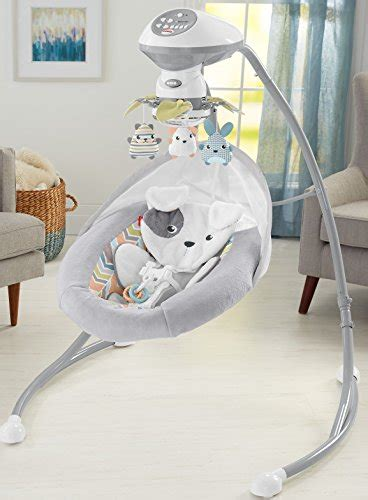 snug a puppy swing fisher price sweet snugapuppy dreams cradle n swing white