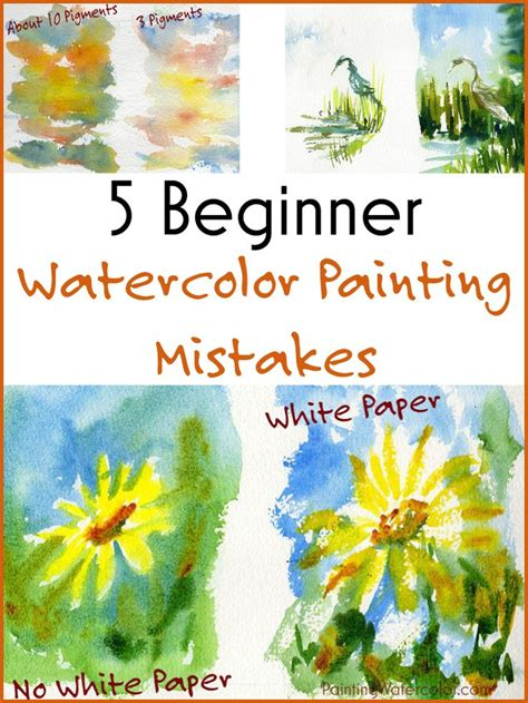 easy watercolor tutorial for beginners 1000 ideas about watercolor painting on pinterest