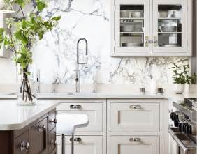Marble Kitchen Backsplash by Marble Slab Backsplash Design Ideas