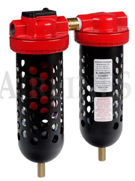 compressed air dryers compressed air driers all eliminizer combo dryer filter 1 4 quot 1 quot airlines