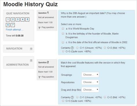 preguntas de cultura general falso o verdadero quiz module moodledocs