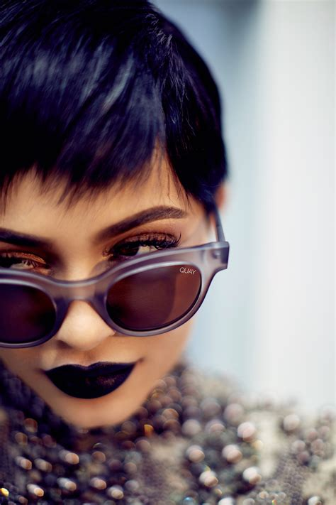 Quay Australia Every Thing Sunglasses jenner is collaborating with quay australia vogue