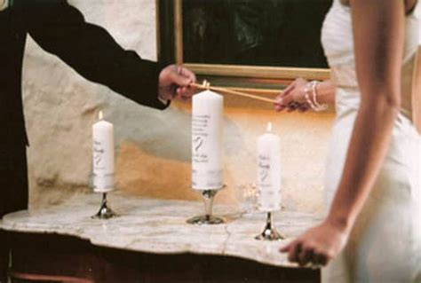 wedding traditions explained unity candle
