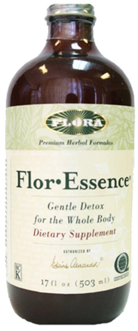 Flor Essence Detox Tea Diet by Flor Essence Gentle Detox Dietary Supplement 17oz Flor