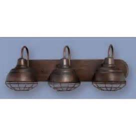 Industrial Bathroom Vanity Lighting Rubbed Bronze