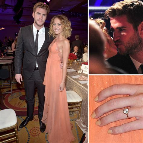 miley cyrus engagement ring rumors pictures popsugar