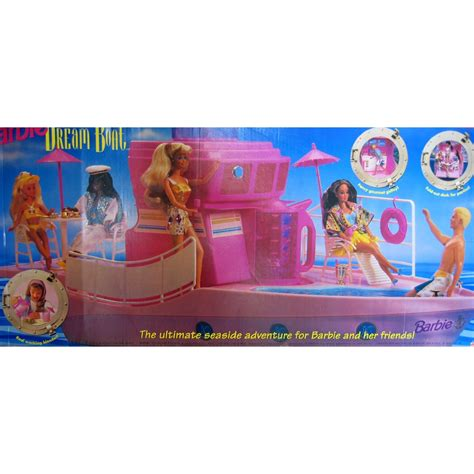 barbie boat house barbie boat barbie knows how to party good old days