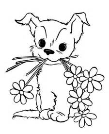 puppies coloring pages coloring pages of puppies and kittens az coloring pages