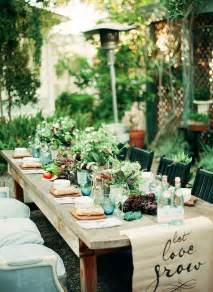 an intimate farm to table dinner party gardens runners