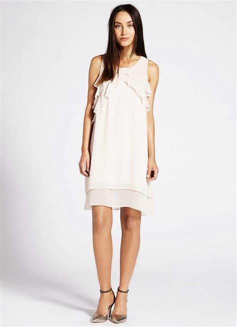 Asymmetric Ruffle Dress asymmetric ruffle dress
