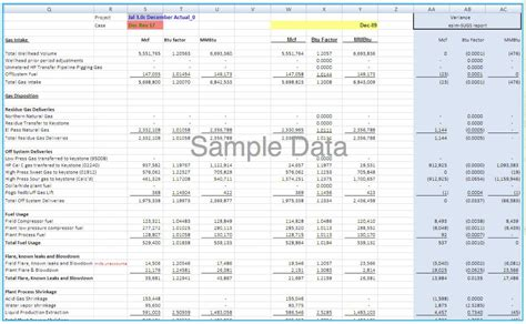 margin analysis excel template managing and optimizing midstream gross margin