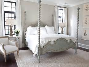 French Country Bedroom Sophisticated French Country Bedroom With Four Poster Bed