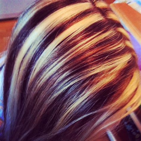 blonde and burgundy high and low lights for short ladies hairstyles best 25 high and low lights ideas on pinterest low