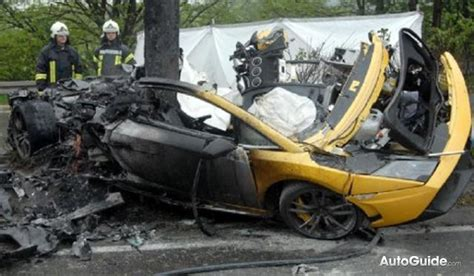 fatal lamborghini fatal lamborghini gallardo crash in germany 187 autoguide