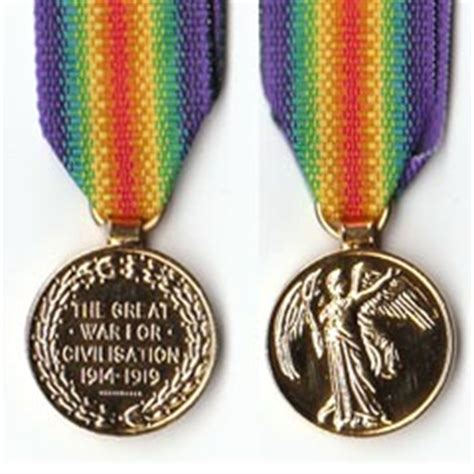 Czechoslovakia Ww1 Medal Victory Interallied 1914 Wwi D ww1 1914 19 miniature victory medal products on the mycollectors website