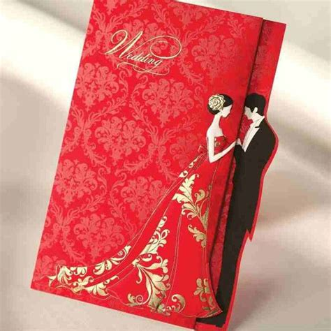Wedding Invitation Card Rates by Cheap Gold St Wedding Invitations Cards With