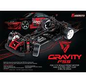 Kasemoto GRAVITY KIT 1/10 4WD RC EP Drift Car Carbon Chassis &amp Tower