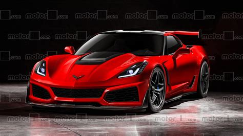 corvette zri 2018 chevy corvette zr1 could and should look like this