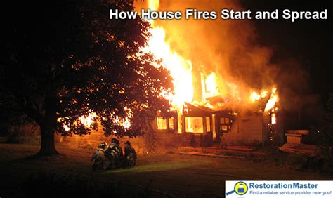how hot does a house fire get how house fires start and spread