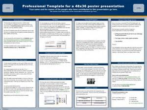 online poster presentation echinacea