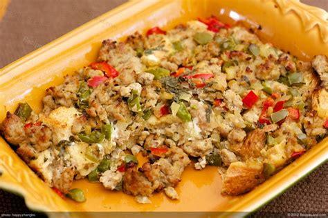 egg strata egg and sausage strata recipe recipeland