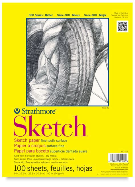 sketch pad strathmore 300 series sketch pads blick materials