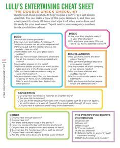 lulu powers party planning corinna b s world last minute party checklist from playpartypin com party