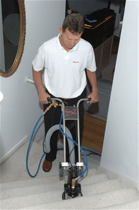 rug doctor stairs cleaning rotovac stairpro