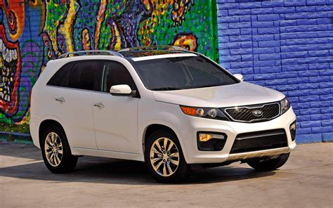 2013 Kia Sorento Sx Review 2013 Kia Sorento Sx Front Three Quarter 5 Photo 9