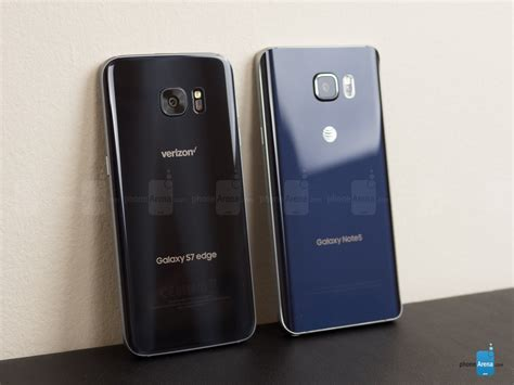 Samsung S7 Note Edge samsung galaxy s7 edge vs samsung galaxy note 5 call quality battery and conclusion
