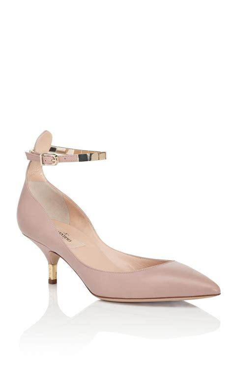 Ankle Kitten Heels valentino soft noisette ankle kitten heel at moda