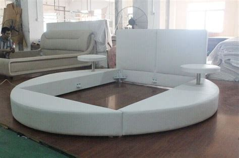 round platform bed 3022 round platform bed king size round bed on sale