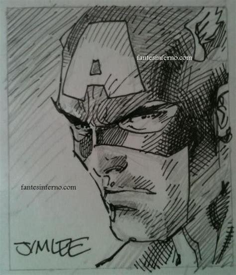 sketchbook jim jim captain america sketch jim jim