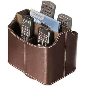 spinning remote caddy brown in remote