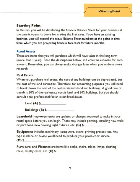 projected financial statement template financial projections template guide free