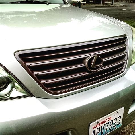 gx470 front grill paint page 2 club lexus forums